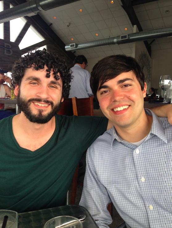 James Rosenbloom and I