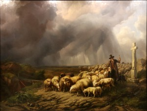 Verbroeckhoven-moutons-orage