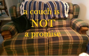 couch not promise