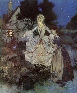 Edmund Dulac - Cinderella