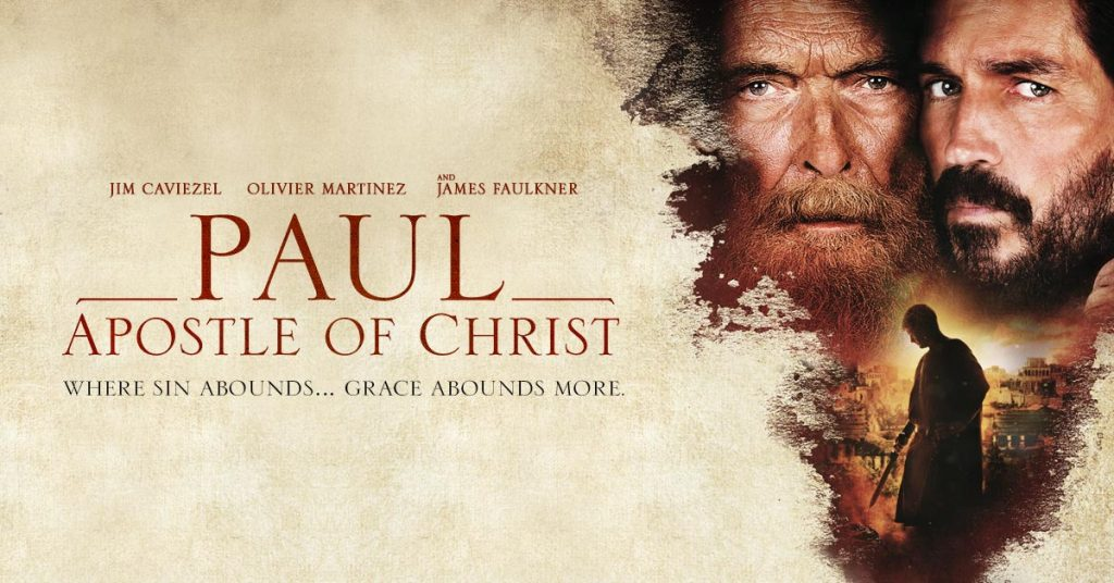 Movie Review: Paul, Apostle of Christ – IGNITUM TODAY